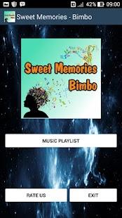 Sweet Memories - Bimbo - náhled