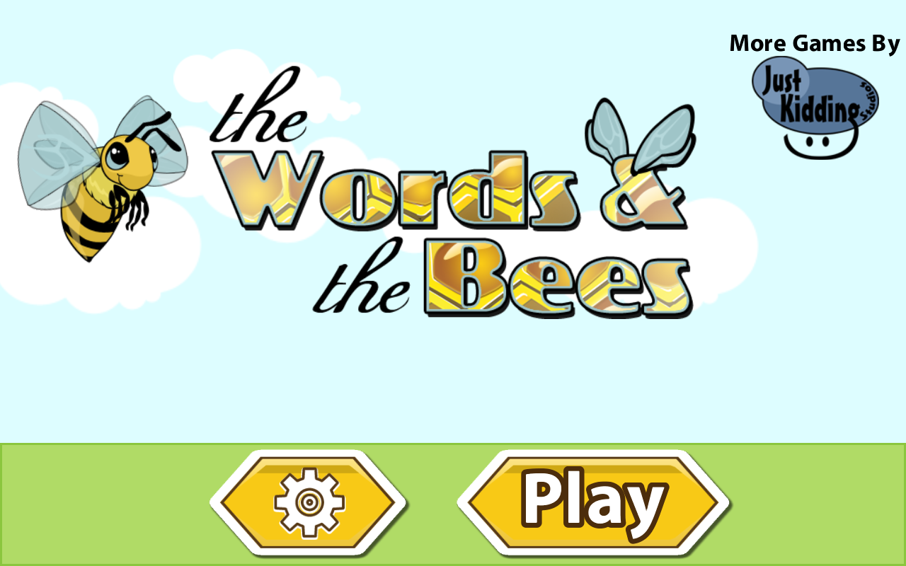 The Words & The Bees Word Find- screenshot