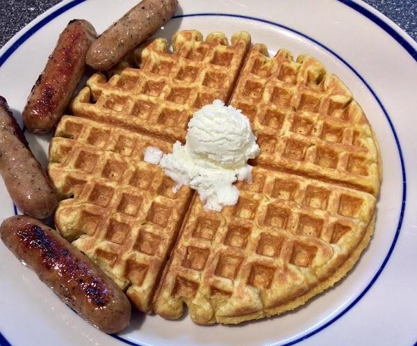 Sugar And Spice Pumpkin Waffles Recipe