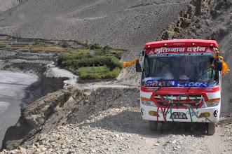 Photo: Remontée de la vallée de la Kali Gandaki