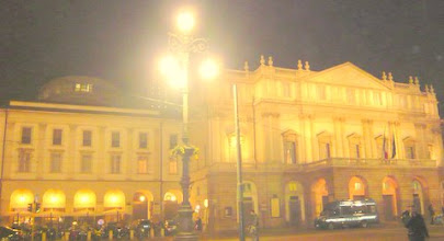 Photo: La Scala Opera House Milan.