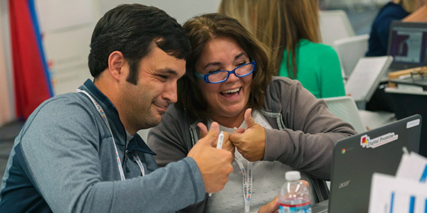 Bridgeport Middle School creates a learning network with technology coaching