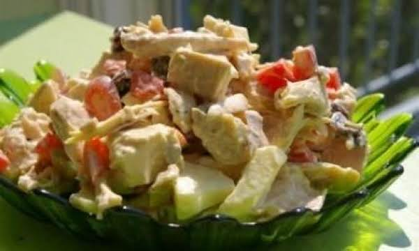 Gingered Chicken And Fruit Salad Recipe