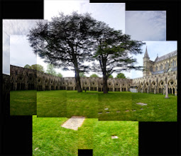Photo: Coisters at Salisbury Cathedral (taken with smartphone)