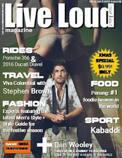 Live Loud Magazine- screenshot thumbnail