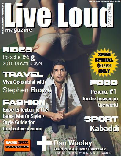 Live Loud Magazine- screenshot