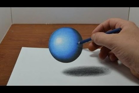 How to Draw 3D and Illusions- screenshot thumbnail