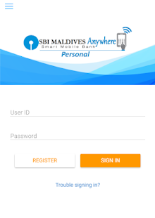SBI Maldives Anywhere