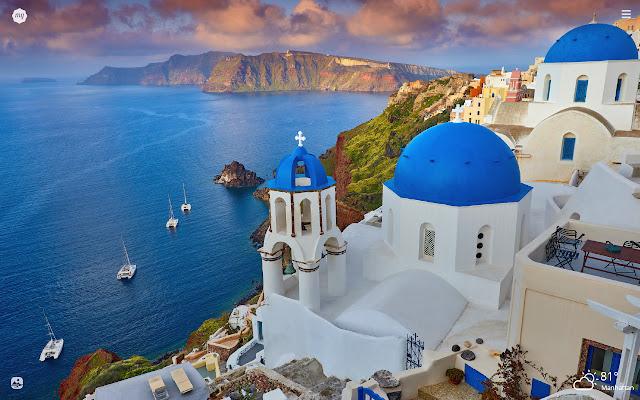 Greece HD Wallpapers New Tab Theme