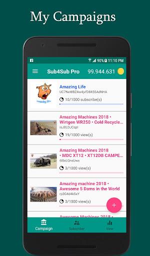 Sub4Sub Pro (No Ads)  screenshots 2