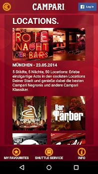 Campari - Rote Nacht der Bars