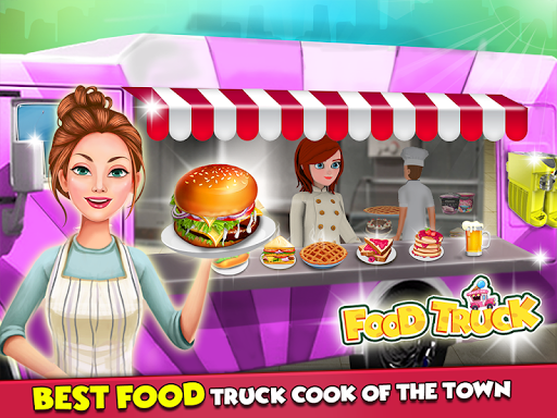 Food Truck Street Kitchen Cooking Games (Unrelease for PC