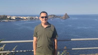 Photo: Me, atop the Aci Castello castle