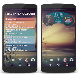 Retro Widgets Material Design v3.1