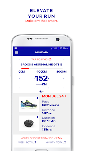MyFit - The Athlete's Foot App - náhled