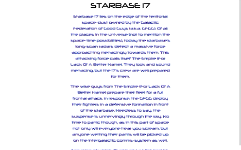 Starbase 17- screenshot thumbnail