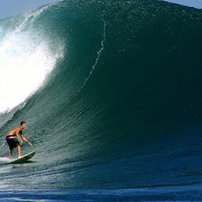 Surfing G-Land by Paul Kennedy - Sports & Fitness Surfing