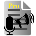 Voice to Text Text to VoicePRO icon