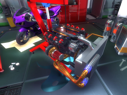 Fix My Car: GT Supercar Mechanic Simulator LITE modavailable screenshots 20