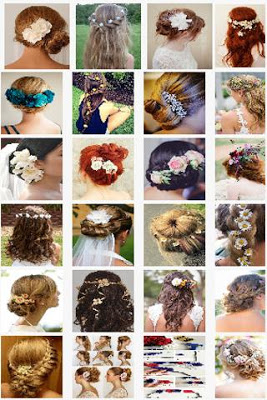 Hairstyles With Flowers - screenshot
