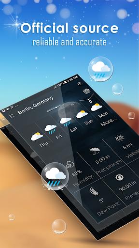 توقعات الطقس اليومية screenshot 2