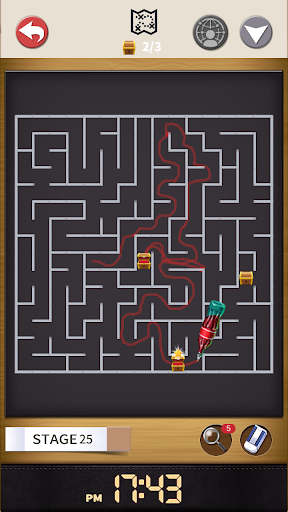 Maze : Pen Runner 1.1.5 gameplay | by HackJr.Pw 19