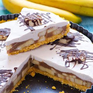 Clean Eating No Bake Banana Cream Pie