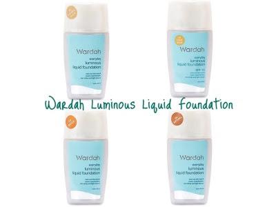Everyday Luminous Foundation Wardah Everyday Luminous Liquid Foundation cair Natural beige light white WARDAH mudah nyaman digunakan