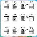 Collection of guitar keys icon