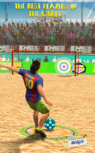 Free Kick Beach Football Games 2018 1.6 screenshots 1