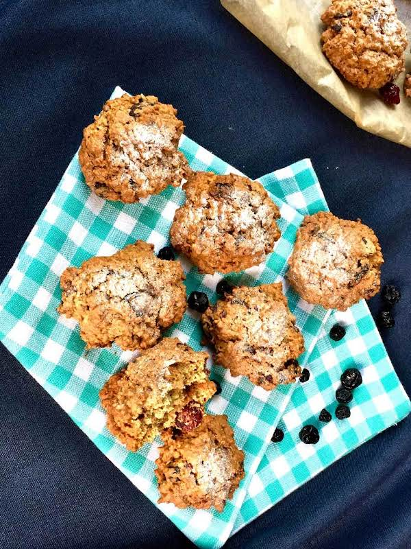 Superb Rye Flour And Dry Berries Healthy Cookies Recipe