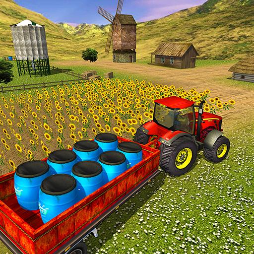 Farm Tractor Cargo Driving Simulator 20