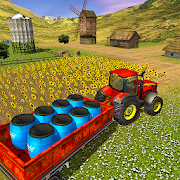 Farm Tractor Cargo Driving Simulator 19
