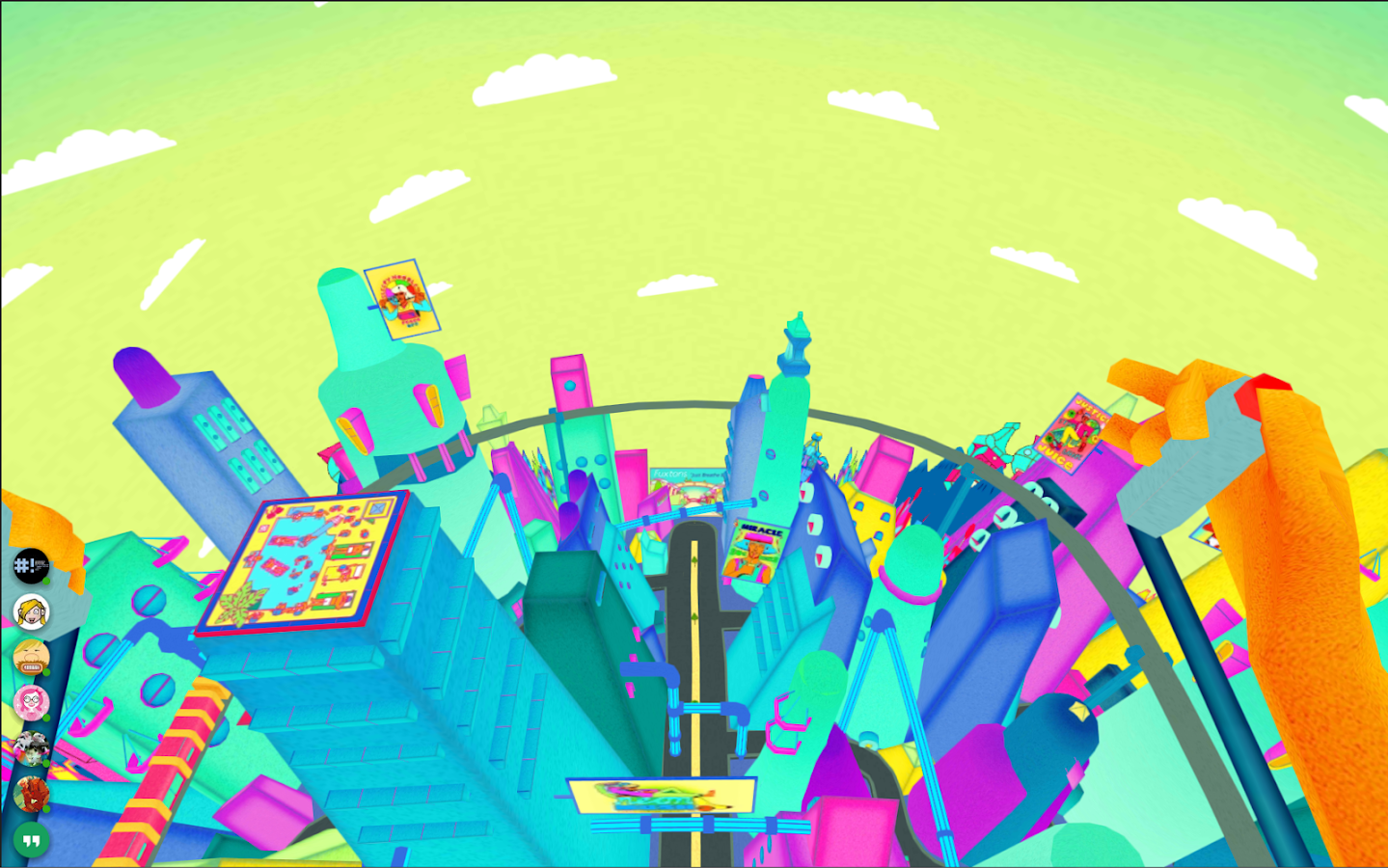 Squarepusher - Stor Eiglass VR- screenshot