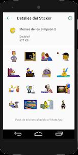 Stickers Memes de los Simpsons – WAStickerApps 6