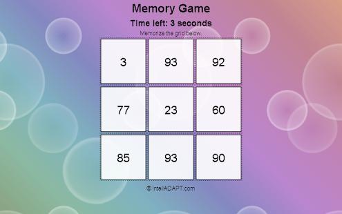 Adaptive Memory Builder screenshot