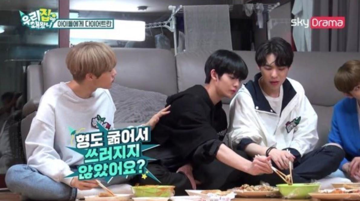 bae jinyoung diet faint 4