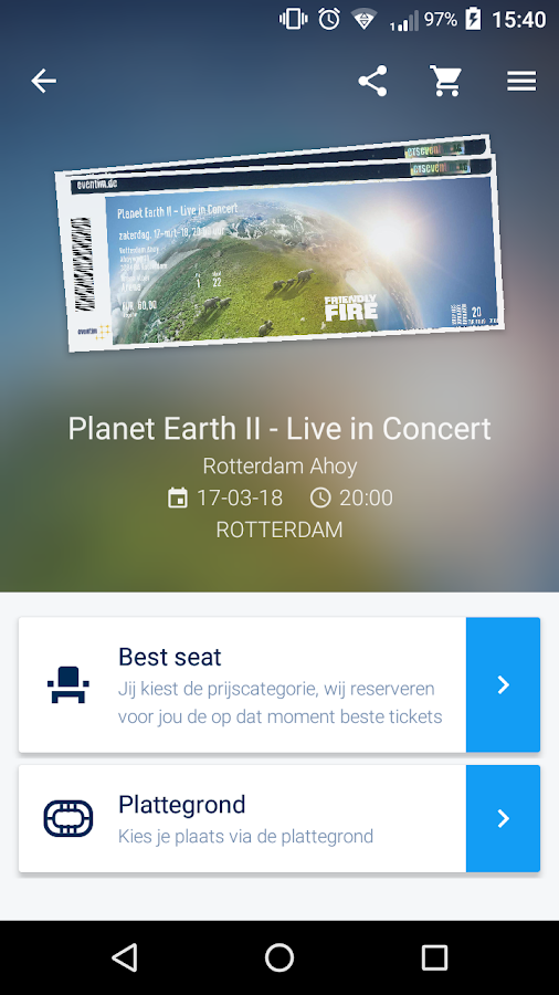 EVENTIM NL- screenshot