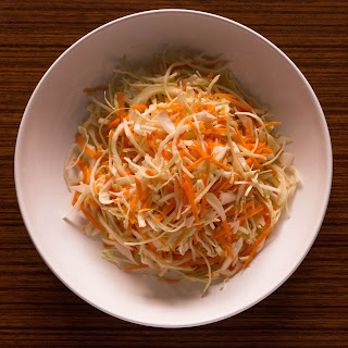 Cabbage and Carrot Salad.