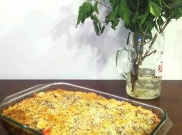 Panko Zucchini Quiche