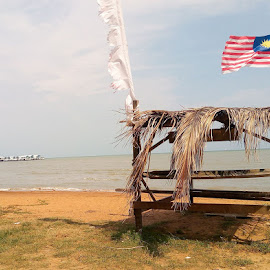 Jalur Gemilang @ Port Dickson, Malaysia by Zulkifli Khair - Instagram & Mobile Android ( port dickson, jalur gemilang, malaysia )