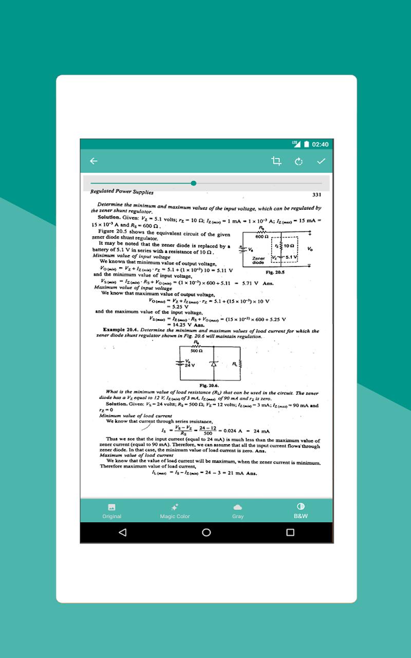 Smart Scan : PDF Scanner Screenshot 7