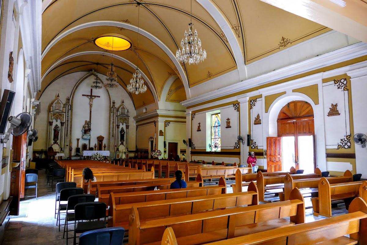 Inside the Catedral de Nuestra Senora de La Paz