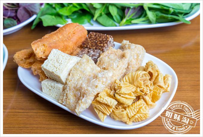 上竹林食草館養生汆燙鍋-配料