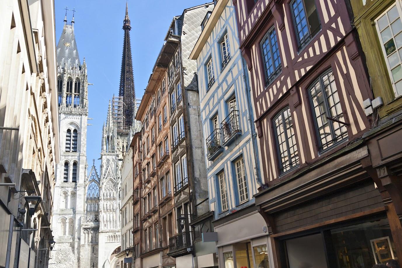 Rouen (Руан), Нормандия, Франция - путеводитель, достопримечательности