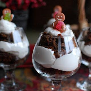 Gingerbread Tiramisu Trifles