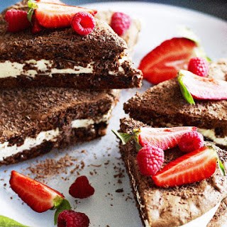 Date, Almond and Chocolate Torte