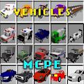 🚗🚚 MCPE Vehicles Cars Mod icon
