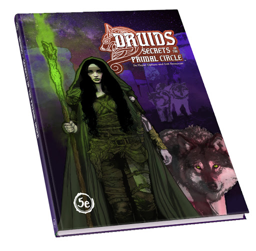 Druids: Secrets of the Primal Circle Part 2: An Interview With Shamus Williams (Home Brewed Games)