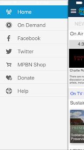 Maine Public Broadcasting App - náhled